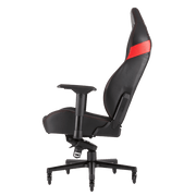 CORSAIR T2 ROAD WARRIOR Gaming Chair - Black/Red CF-9010008-WW side view