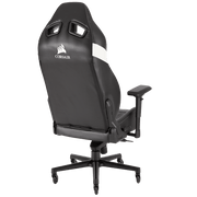 CORSAIR T2 ROAD WARRIOR Gaming Chair - Black/White CF-9010007-WW general back view