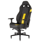 CORSAIR T2 ROAD WARRIOR Gaming Chair - Black/White CF-9010007-WW general view