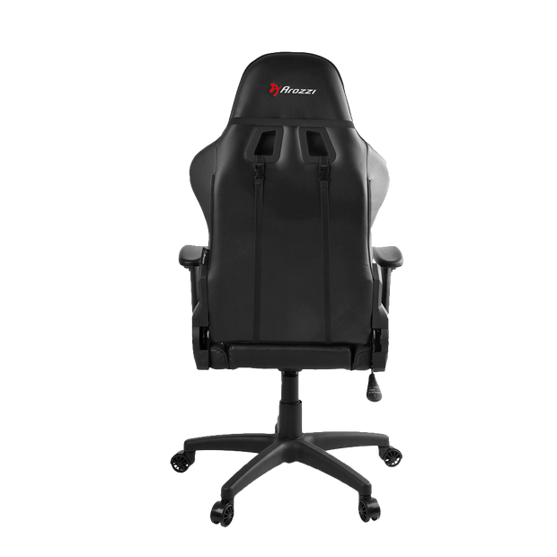 Arozzi Verona V2 Gaming Chair - Black VERONA-V2-BK back view