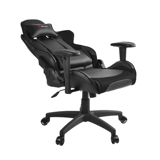 Arozzi Verona V2 Gaming Chair - Black VERONA-V2-BK general seatdown view