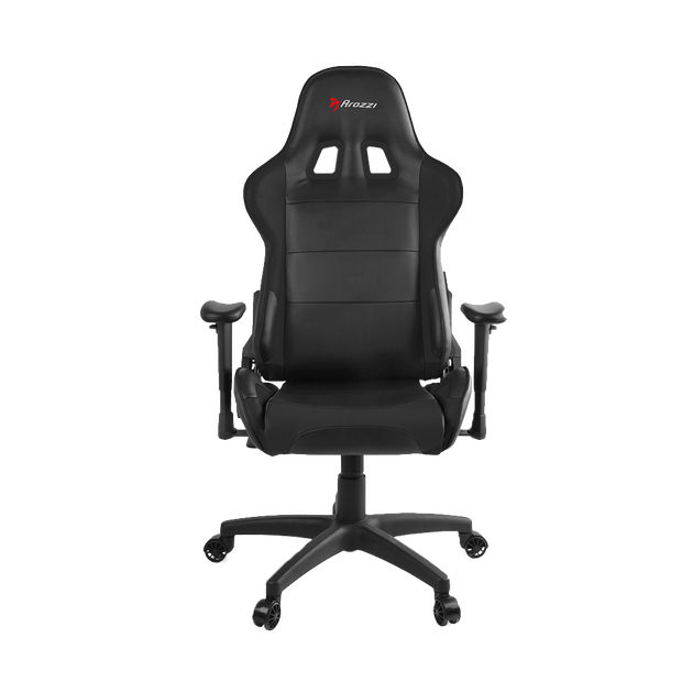 Arozzi Verona V2 Gaming Chair - Black VERONA-V2-BK  front view