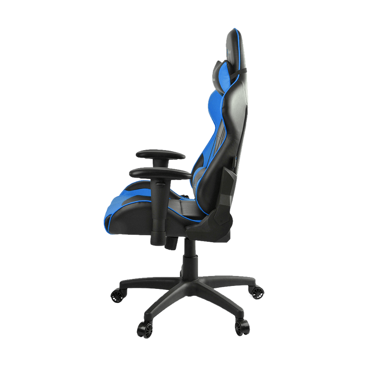 Arozzi Verona V2 Gaming Chair - Blue VERONA-V2-BL side view