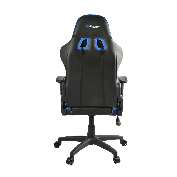 Arozzi Verona V2 Gaming Chair - Blue VERONA-V2-BL back view