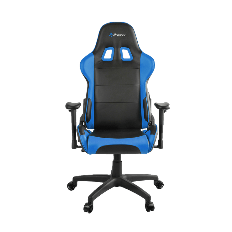 Arozzi Verona V2 Gaming Chair - Blue VERONA-V2-BL front view