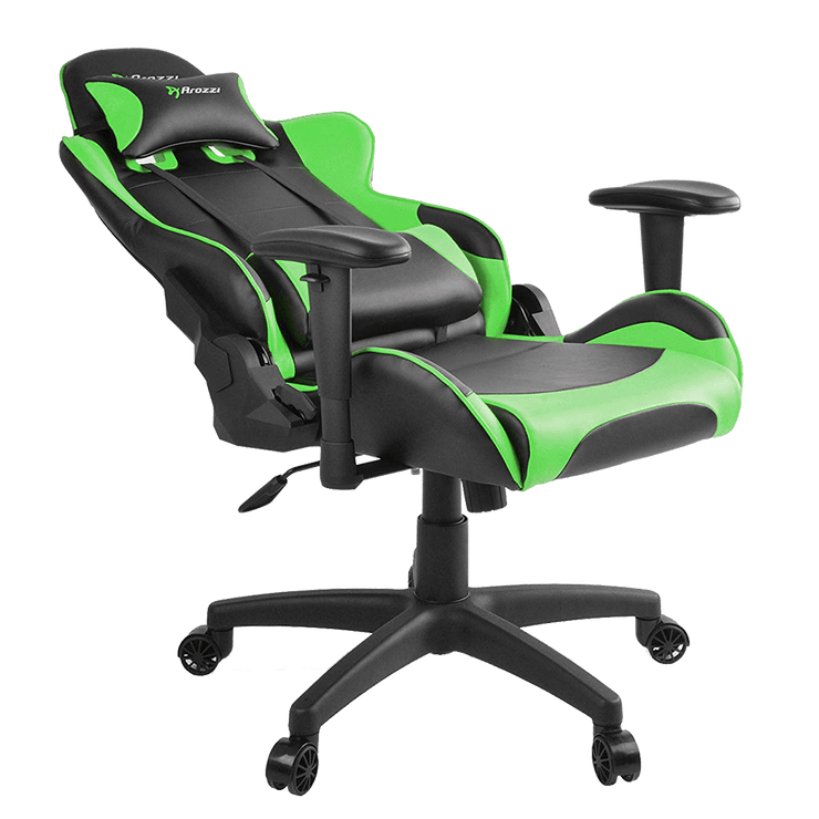 Arozzi Verona V2 Gaming Chair - Green VERONA-V2-GN  general seatdown view