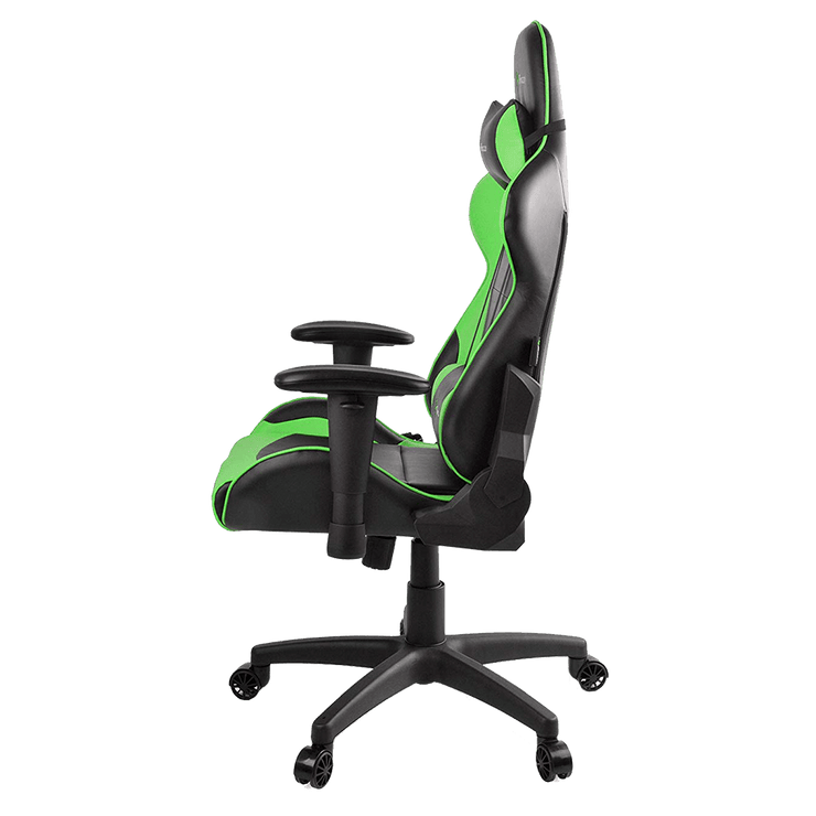 Arozzi Verona V2 Gaming Chair - Green VERONA-V2-GN  side view