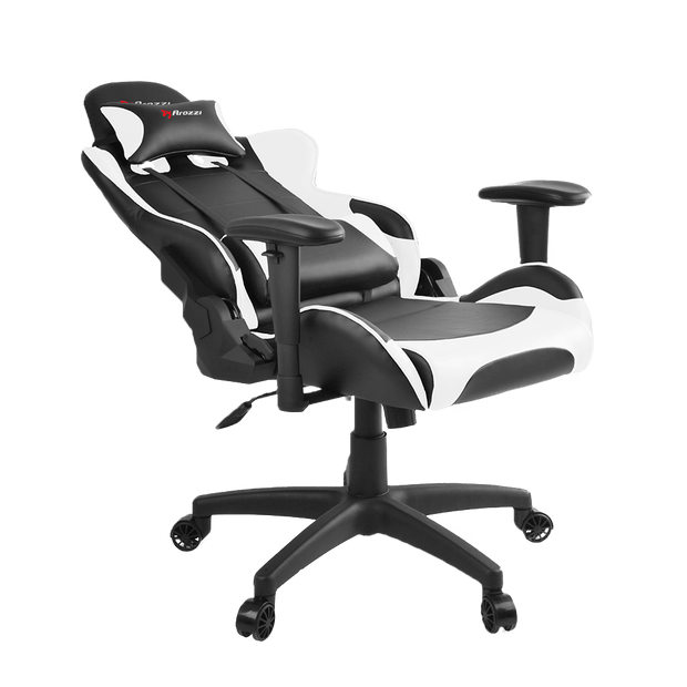 Arozzi Verona V2 Gaming Chair - White VERONA-V2-WT general seatdown view