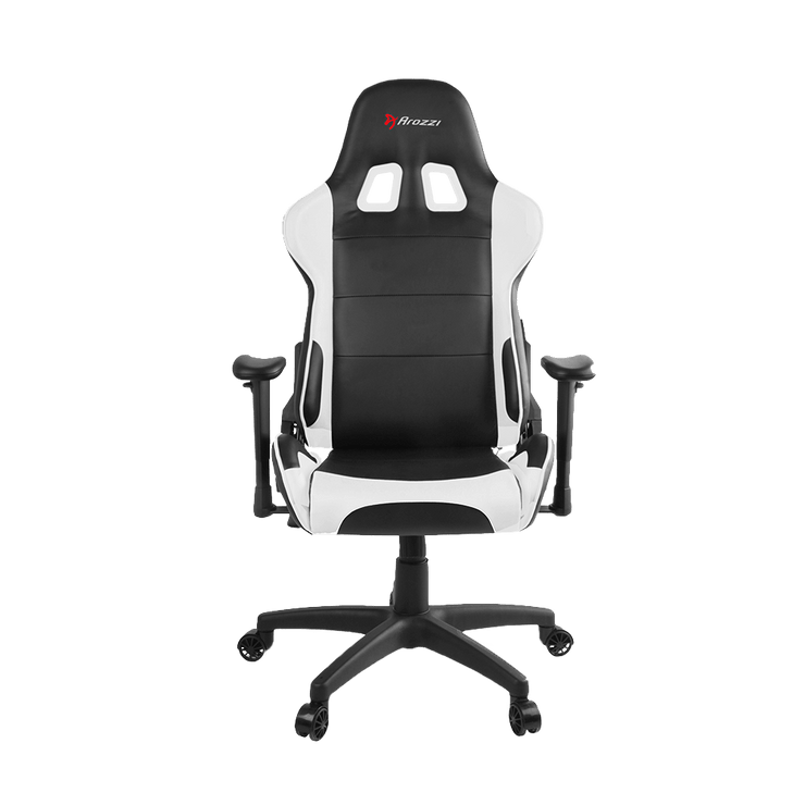 Arozzi Verona V2 Gaming Chair - White VERONA-V2-WT front view