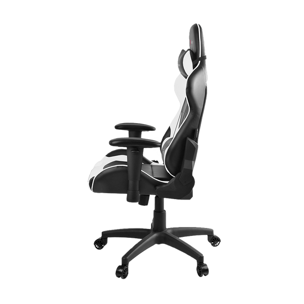 Arozzi Verona V2 Gaming Chair - White VERONA-V2-WT side view