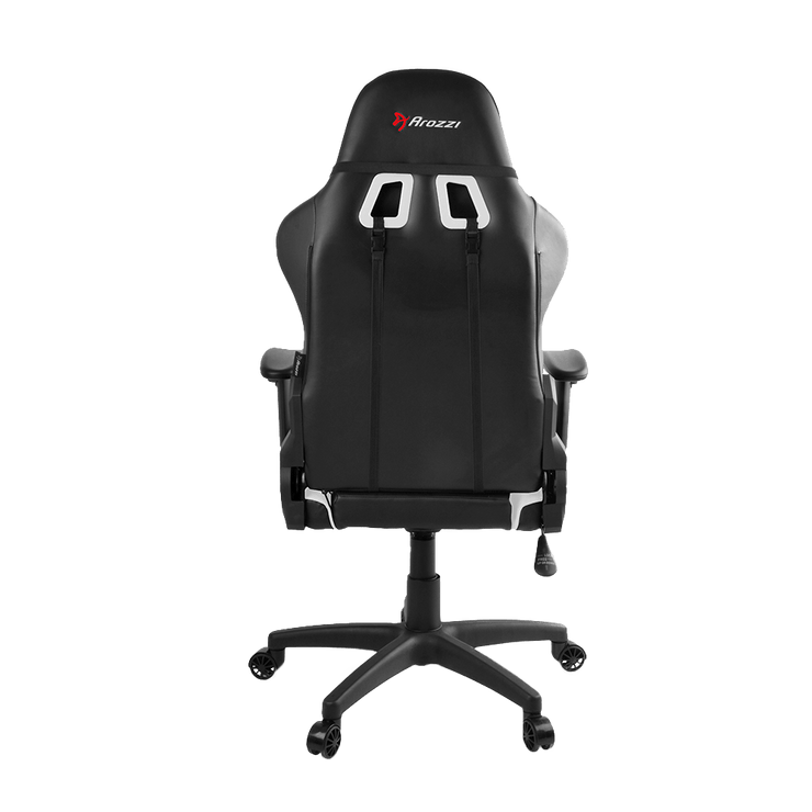 Arozzi Verona V2 Gaming Chair - White VERONA-V2-WT back view