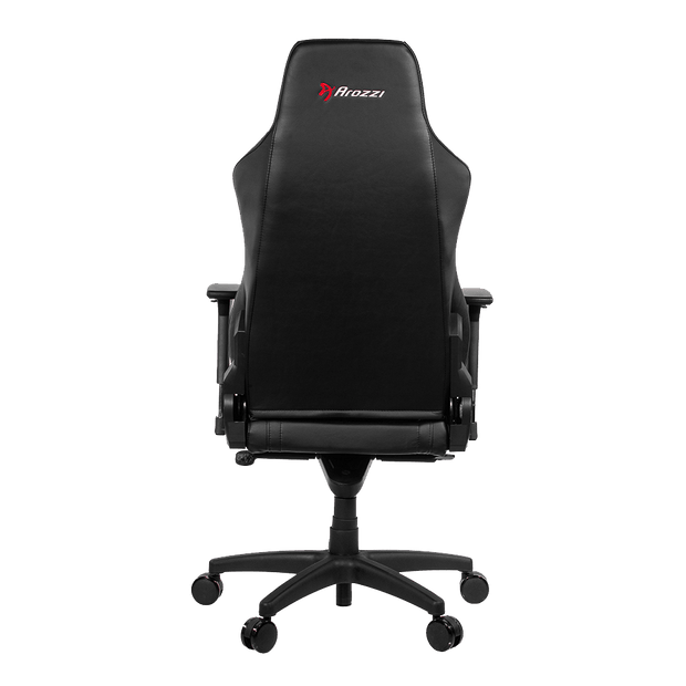 Arozzi Vernazza Gaming Chair - Black VERNAZZA-BK back view