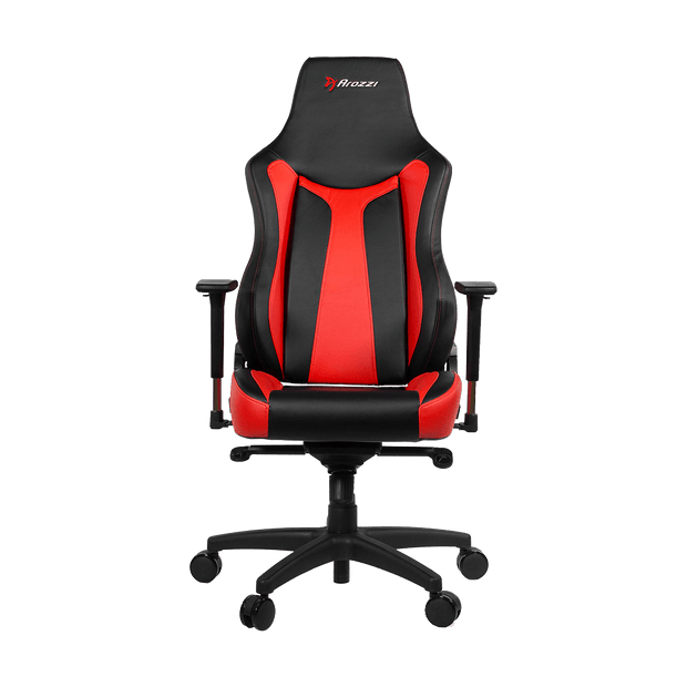 Arozzi Vernazza Gaming Chair - Red VERNAZZA-RD Front view