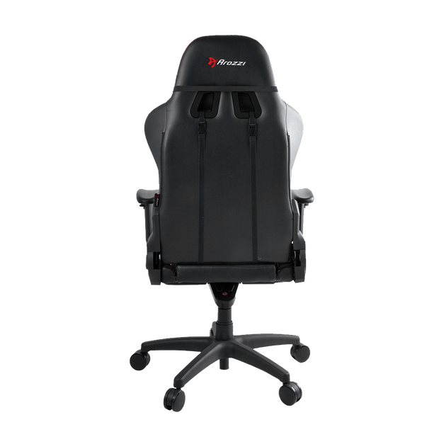 Arozzi Verona Pro V2 Gaming Chair - Black VERONA-PRO-V2-CB Back view