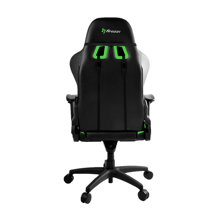 Arozzi Verona Pro V2 Gaming Chair - Green VERONA-PRO-V2-GN back view