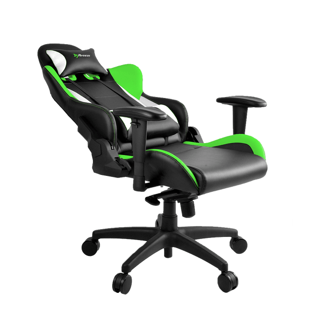 Arozzi Verona Pro V2 Gaming Chair - Green VERONA-PRO-V2-GN seatdown view