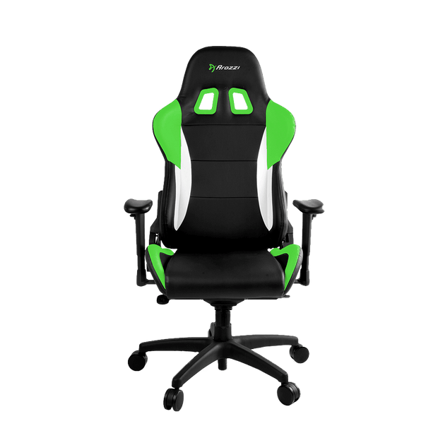 Arozzi Verona Pro V2 Gaming Chair - Green VERONA-PRO-V2-GN front view