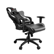 rozzi Verona Pro V2 Gaming Chair - Grey VERONA-PRO-V2-GY general seatdown view
