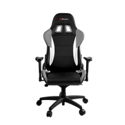 rozzi Verona Pro V2 Gaming Chair - Grey VERONA-PRO-V2-GY front view