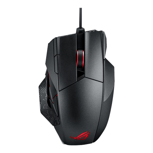 ASUS ROGs Spatha Wired/Wireless Gaming Mouse ROG Spatha top view