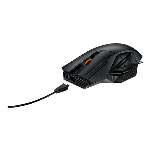 ASUS ROGs Spatha Wired/Wireless Gaming Mouse ROG Spatha wire view