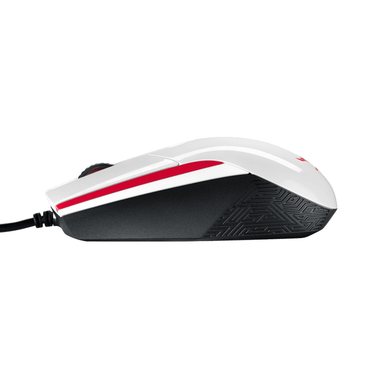 ASUS ROG Sica Mouse - White ROG SICA side view