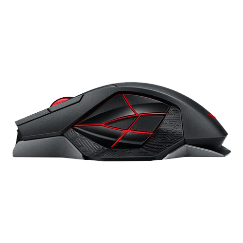 ASUS ROGs Spatha Wired/Wireless Gaming Mouse ROG Spatha side view
