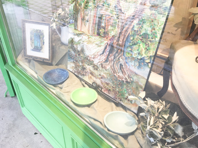 French window display