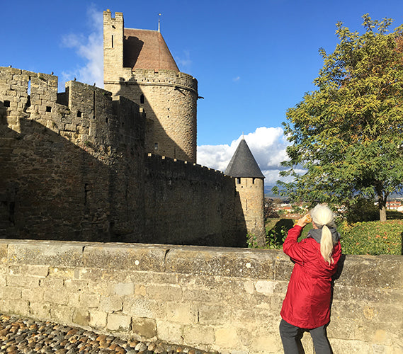 Farewell Carcassonne Southern France