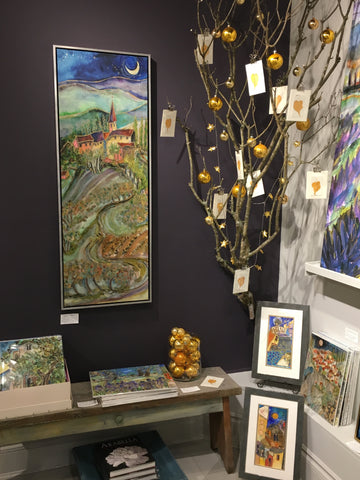 The Gallery Collection Christmas Cards.Christmas In The Gallery Jill Louise Campbell Art Gallery