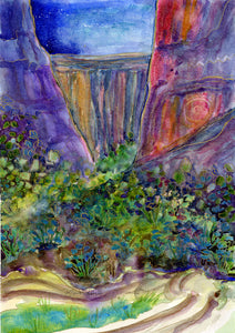 Canyon Whispers : Art Print