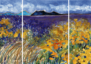 Chimisa in the Wind : Triptych