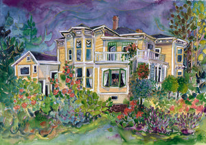 Fairholme House : Art Print