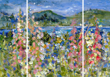 Load image into Gallery viewer, Foxglove over Trincomali : Triptych