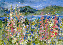 Load image into Gallery viewer, Foxglove Over Trincomalli : Art Print