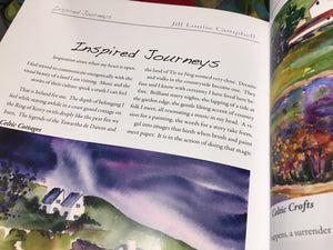 Inspired Journeys Book....  the art of Jill Louise Campbell