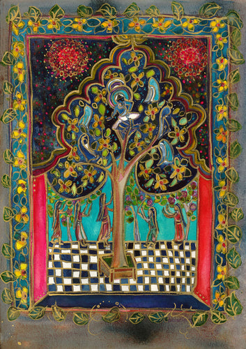 Krishna in Kandapa Tree