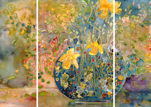 Murano Glass : Triptych