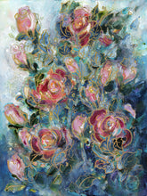 Load image into Gallery viewer, Sun Touch Roses : Art Print