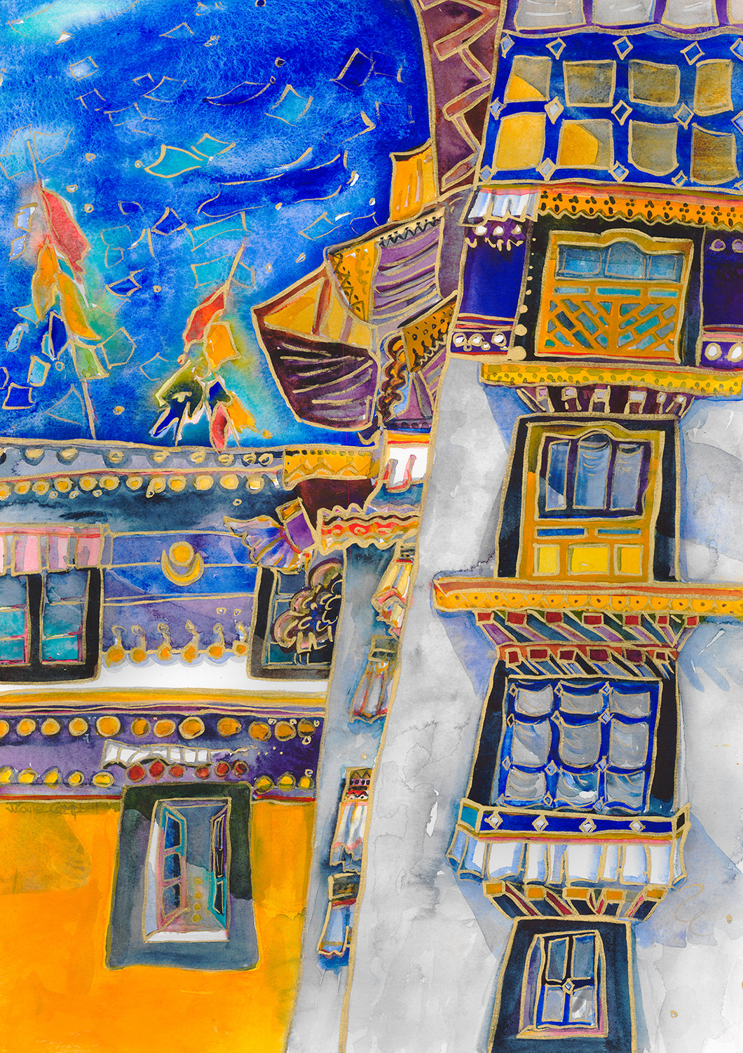 Twelve Windows Tibet