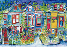 Load image into Gallery viewer, Victorian Row : Art Print