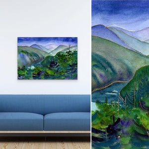 "Malahat Journey : Edition 165 : Large 32""x48"""