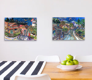 "Salt Spring Island Time : Edition #110 : Small I6""x24"""