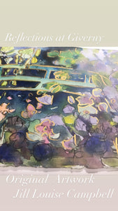 Enchantment at Giverny : Original Artwork
