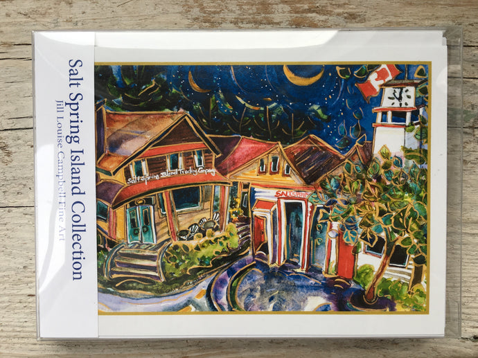 Salt Spring Island : 10 Art Cards