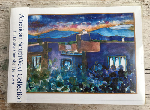 American SouthWest : 10 Art Cards