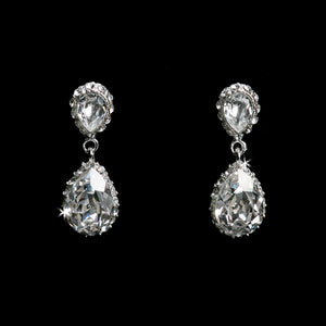 Rhinestone Earrings E1294
