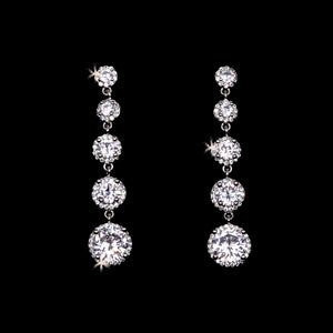 E2167 Rhinestone Earrings