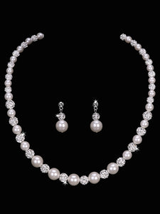Pearl Bead Necklace Set NL1653