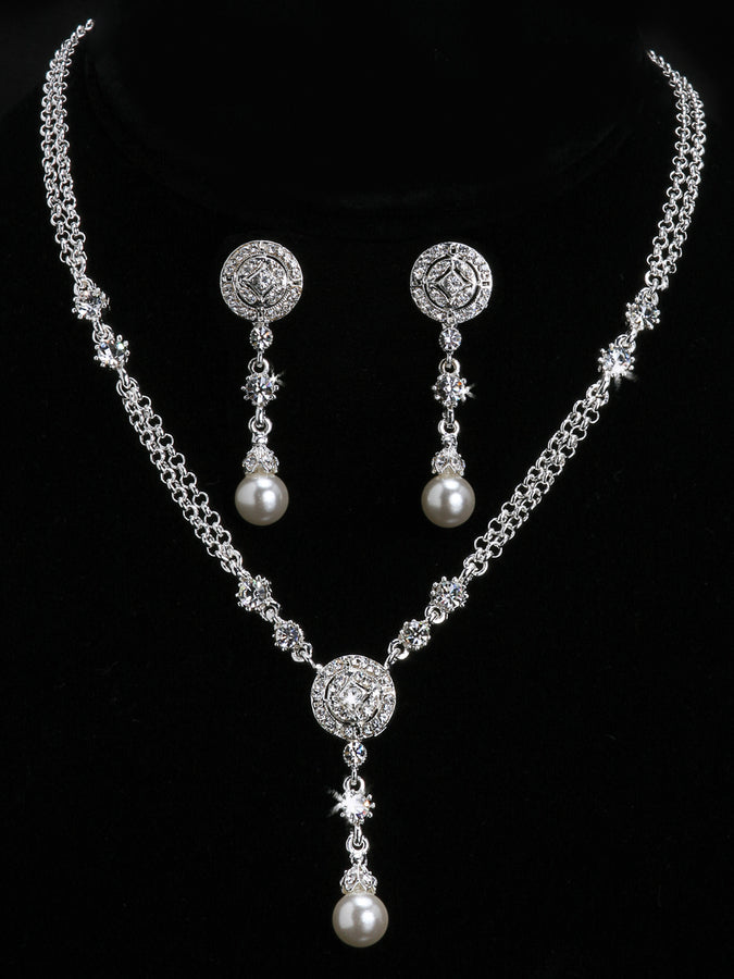 Pearl Bead Necklace Set NL902